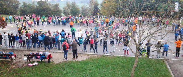 Skupni športni dan petih podružnic pod Gorjanci